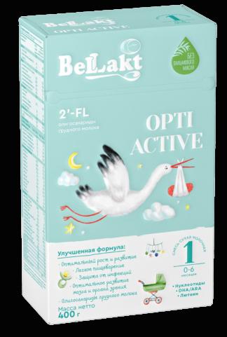 """Смесь сухая молочная адаптированная """"Беллакт"""" ОPTI ACTIVE 1"""