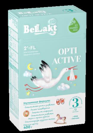 """Напиток сухой молочный """"Беллакт"""" ОPTI ACTIVE 3"""
